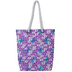 Hard Workout Full Print Rope Handle Tote (small) by jumpercat