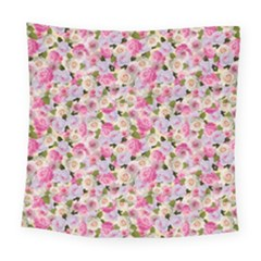 Gardenia Sweet Square Tapestry (large) by jumpercat