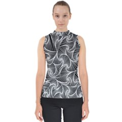 Fractal Sketch Dark Shell Top