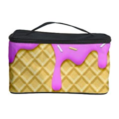 Strawberry Ice Cream Cosmetic Storage Case by jumpercat