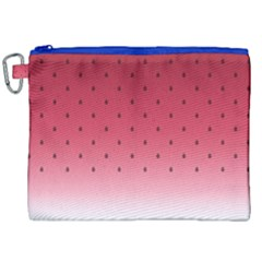 Watermelon Canvas Cosmetic Bag (xxl) by jumpercat