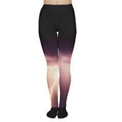 Storm Weather Lightning Bolt Women s Tights