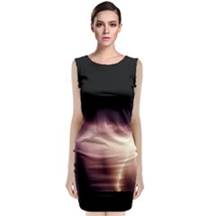 Storm Weather Lightning Bolt Classic Sleeveless Midi Dress