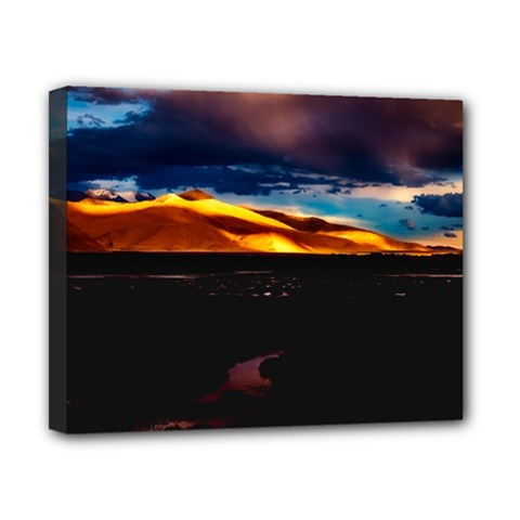 India Sunset Sky Clouds Mountains Canvas 10  X 8  by BangZart
