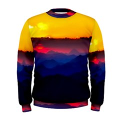 Austria Landscape Sky Clouds Men s Sweatshirt