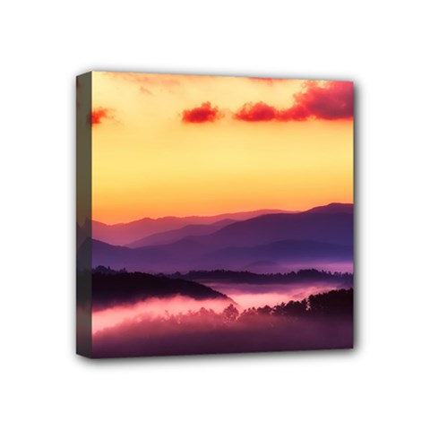 Great Smoky Mountains National Park Mini Canvas 4  x 4