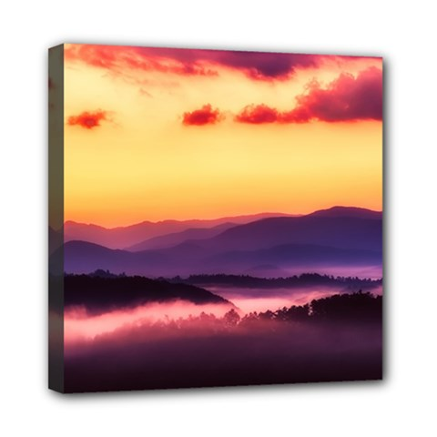 Great Smoky Mountains National Park Mini Canvas 8  x 8