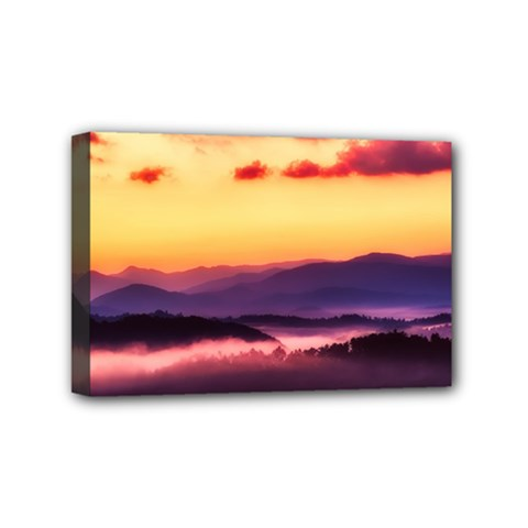 Great Smoky Mountains National Park Mini Canvas 6  x 4