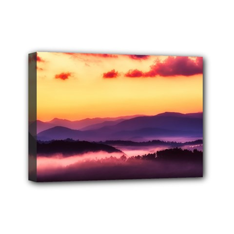 Great Smoky Mountains National Park Mini Canvas 7  x 5