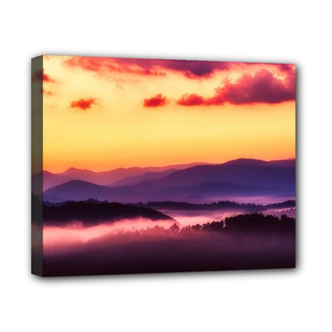 Great Smoky Mountains National Park Canvas 10  x 8