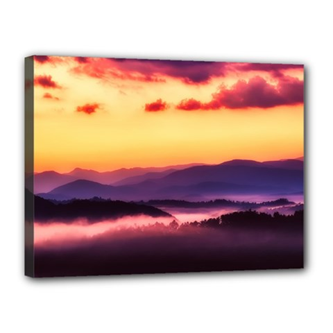 Great Smoky Mountains National Park Canvas 16  x 12