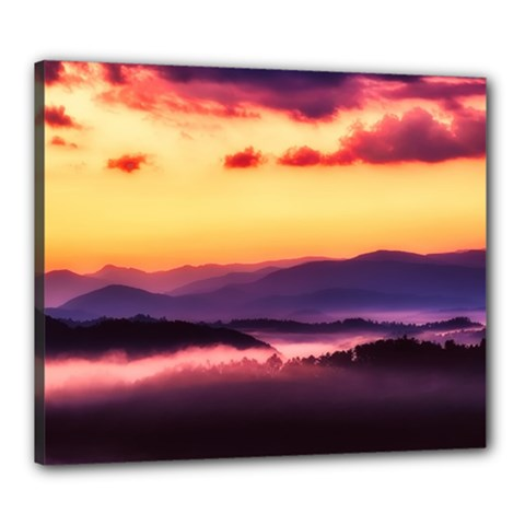 Great Smoky Mountains National Park Canvas 24  x 20