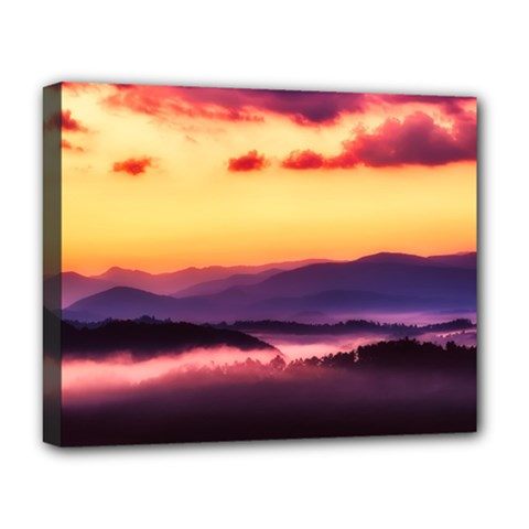 Great Smoky Mountains National Park Deluxe Canvas 20  x 16