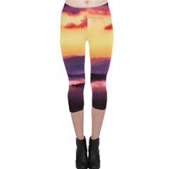 Great Smoky Mountains National Park Capri Leggings
