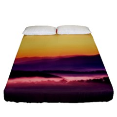 Great Smoky Mountains National Park Fitted Sheet (Queen Size)