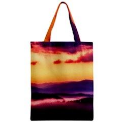 Great Smoky Mountains National Park Zipper Classic Tote Bag