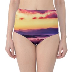 Great Smoky Mountains National Park High-Waist Bikini Bottoms