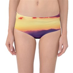 Great Smoky Mountains National Park Mid-Waist Bikini Bottoms