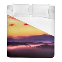 Great Smoky Mountains National Park Duvet Cover (Full/ Double Size)