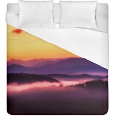 Great Smoky Mountains National Park Duvet Cover (King Size)