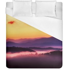 Great Smoky Mountains National Park Duvet Cover (California King Size)