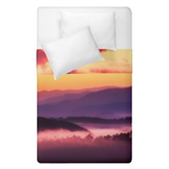 Great Smoky Mountains National Park Duvet Cover Double Side (Single Size)