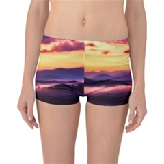 Great Smoky Mountains National Park Reversible Boyleg Bikini Bottoms