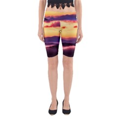 Great Smoky Mountains National Park Yoga Cropped Leggings