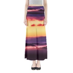 Great Smoky Mountains National Park Full Length Maxi Skirt