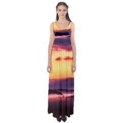 Great Smoky Mountains National Park Empire Waist Maxi Dress