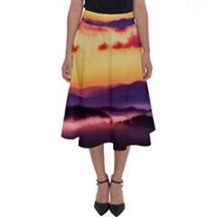 Great Smoky Mountains National Park Perfect Length Midi Skirt
