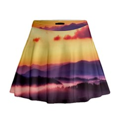 Great Smoky Mountains National Park Mini Flare Skirt