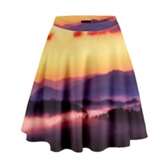 Great Smoky Mountains National Park High Waist Skirt