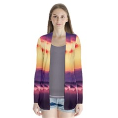 Great Smoky Mountains National Park Drape Collar Cardigan
