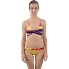 Great Smoky Mountains National Park Wrap Around Bikini Set