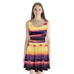 Great Smoky Mountains National Park Split Back Mini Dress