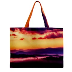 Great Smoky Mountains National Park Zipper Medium Tote Bag