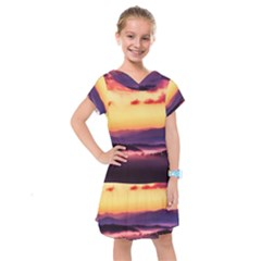 Great Smoky Mountains National Park Kids  Drop Waist Dress