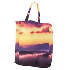 Great Smoky Mountains National Park Giant Grocery Zipper Tote