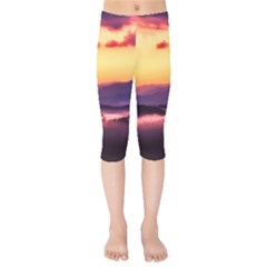 Great Smoky Mountains National Park Kids  Capri Leggings