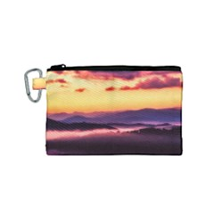 Great Smoky Mountains National Park Canvas Cosmetic Bag (Small)