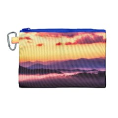 Great Smoky Mountains National Park Canvas Cosmetic Bag (Large)