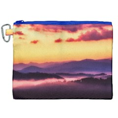 Great Smoky Mountains National Park Canvas Cosmetic Bag (XXL)