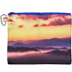 Great Smoky Mountains National Park Canvas Cosmetic Bag (XXXL)