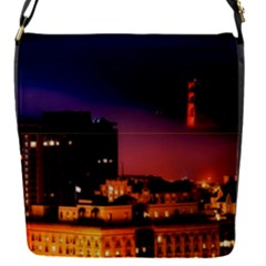 San Francisco Night Evening Lights Flap Covers (s)  by BangZart