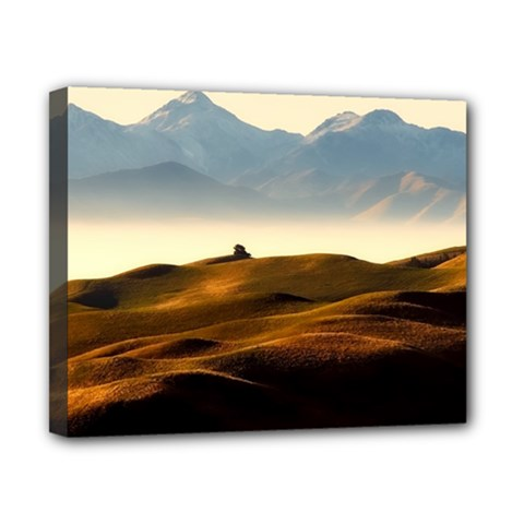 Landscape Mountains Nature Outdoors Canvas 10  X 8  by BangZart