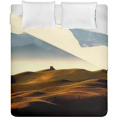 Landscape Mountains Nature Outdoors Duvet Cover Double Side (california King Size)
