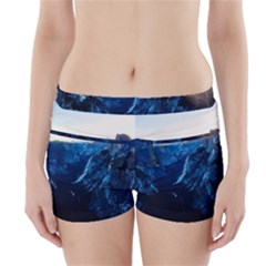 Yosemite National Park California Boyleg Bikini Wrap Bottoms by BangZart