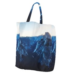 Yosemite National Park California Giant Grocery Zipper Tote