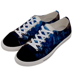 Yosemite National Park California Women s Low Top Canvas Sneakers by BangZart
